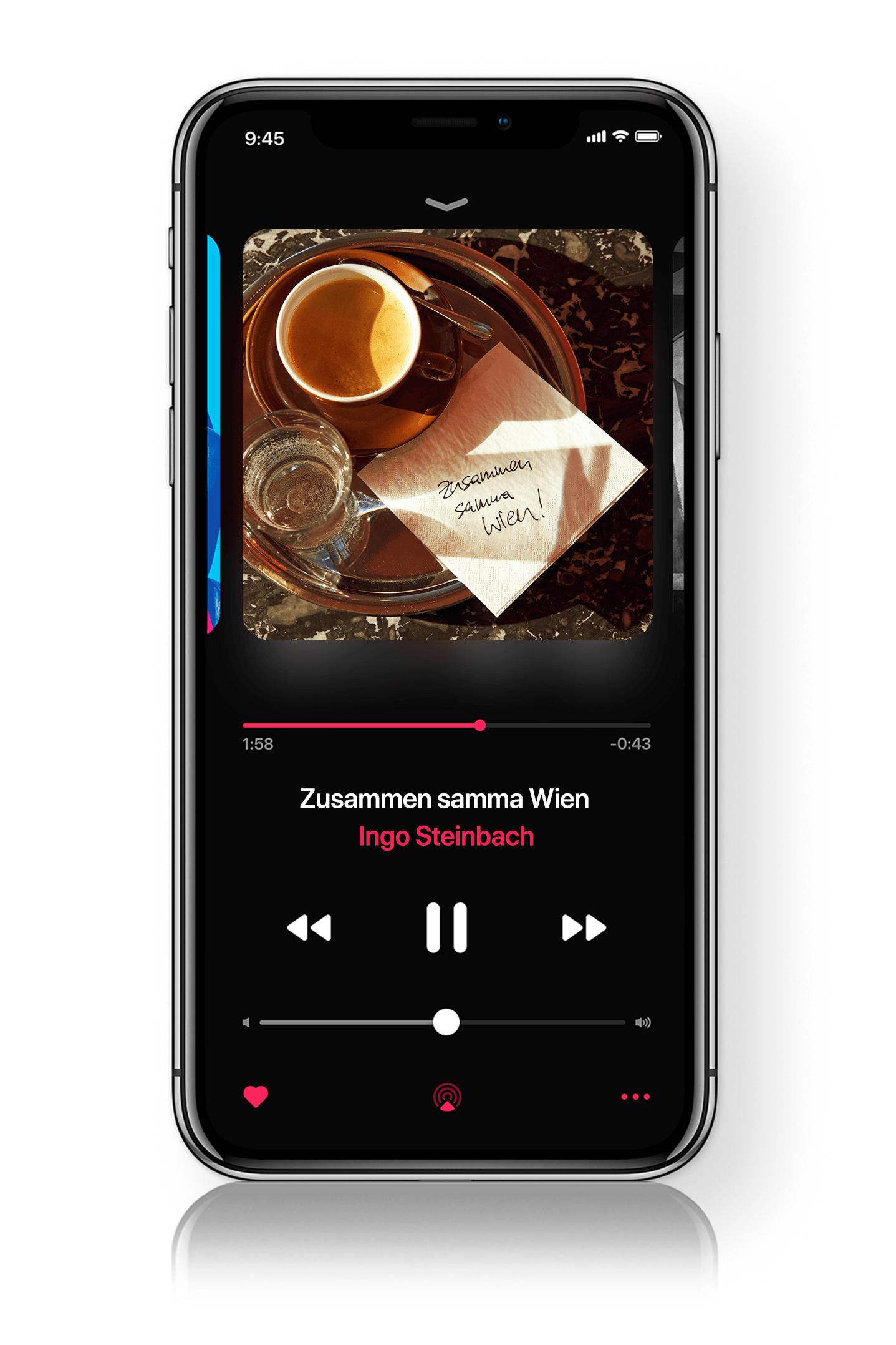 Apple Music: Ingo Steinbach - Zusammen samma Wien